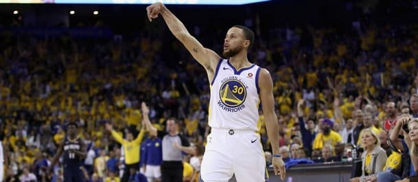Curry is on a surge to be Finals MVP