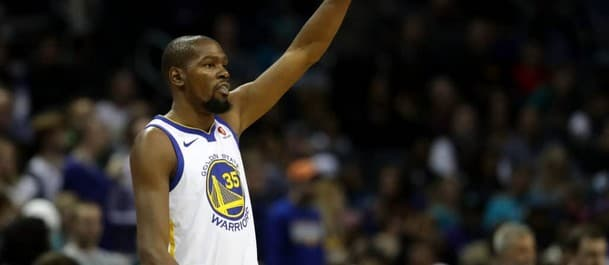 Durant was outstanding in game three