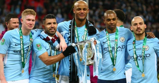 Manchester City are aiming for back-to-back Premier League titles.