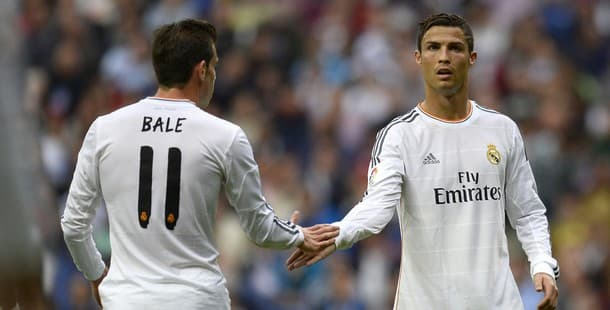 Gareth Bale will try to fill Ronaldo's shoes at Real Madrid.