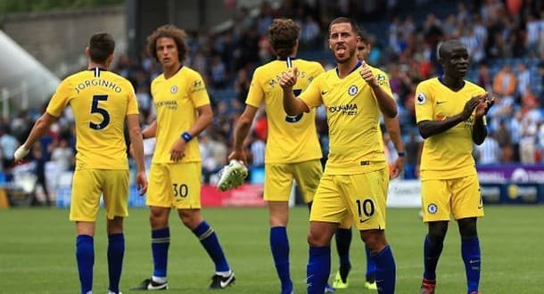 Chelsea opened their Premier League campaign with a 3-0 win at Huddersfield.