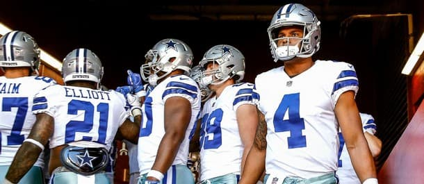 Prescott is under pressure in Dallas