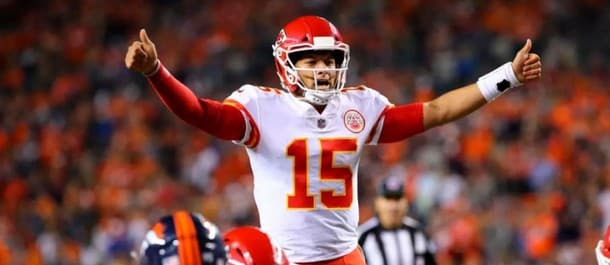 Mahomes is eyeing his fifth win in a row
