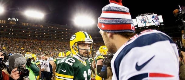 Who will win the duel between Brady and Rodgers?