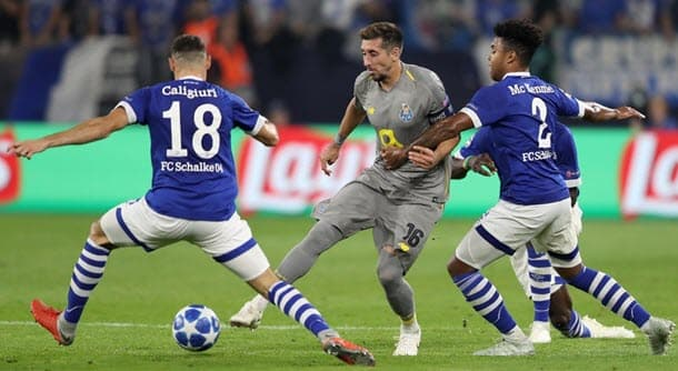 Porto v Schalke