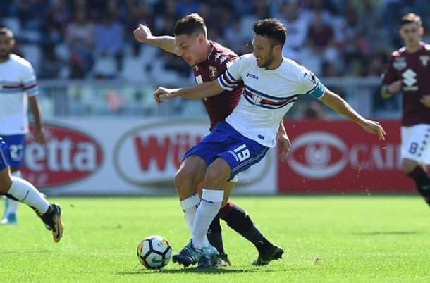 Sampdoria v Torino Italian Serie A