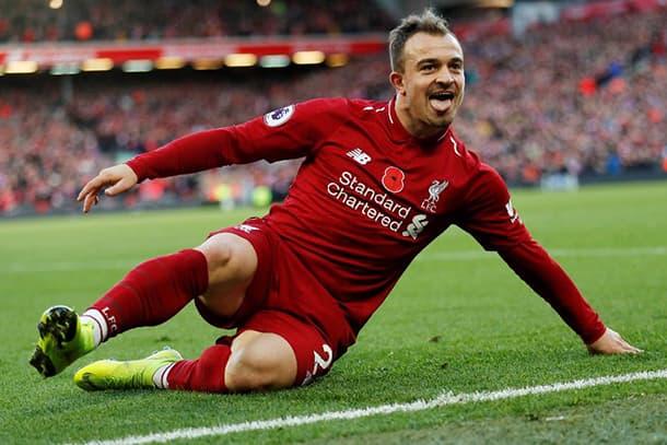 Shaqiri Liverpool