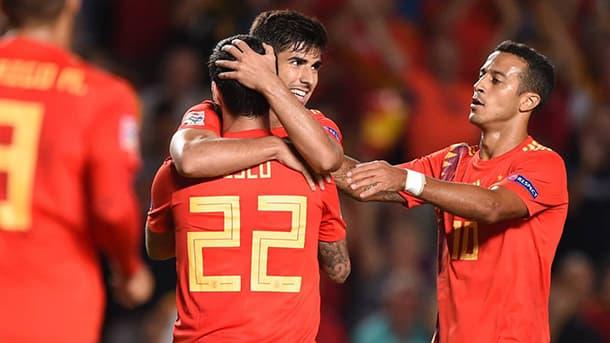 Spain UEFA Nations League