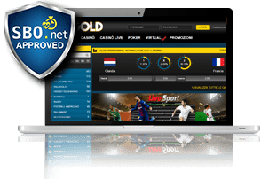Bet365 Gold Homepage
