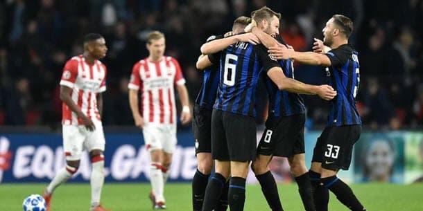 Internazionale v PSV