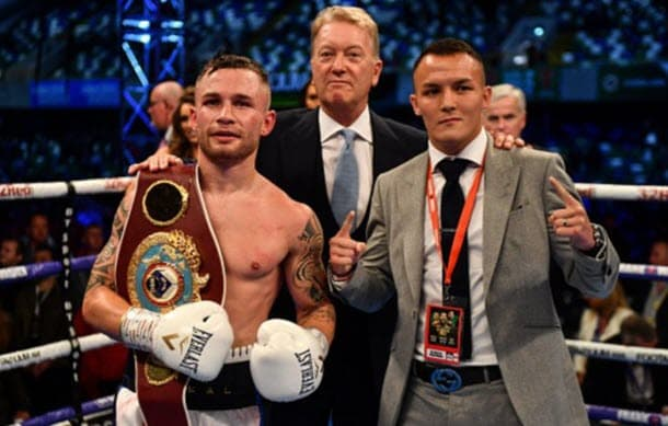 Josh Warrington v Carl Frampton