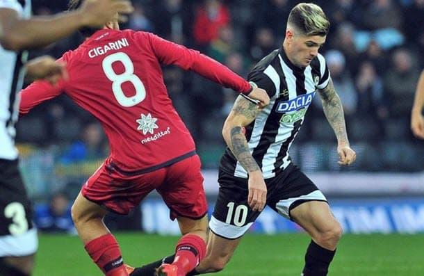 Udinese and Cagliari