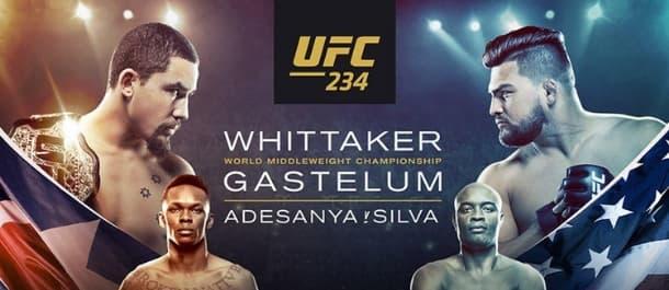 UFC 234 - Robert Whittaker vs. Kelvin Gastelum