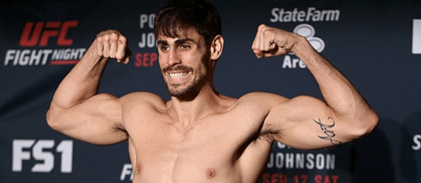 Antonio Carlos Junior weighs in for his UFC bout