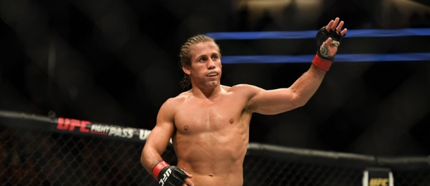 Urijah Faber prepares for his UFC fight