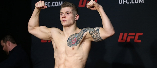 Marvin Vettori weighs in for his UFC bout