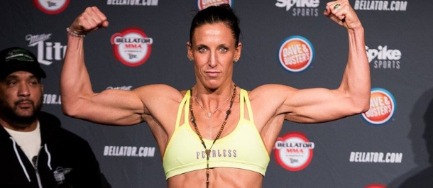 Julia Budd weighs in for Bellator