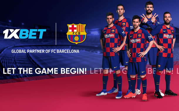 Global Partner FC Barcelona 1XBET