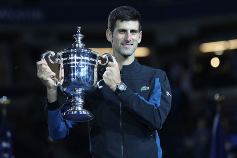 Novak Djokovic Trophy