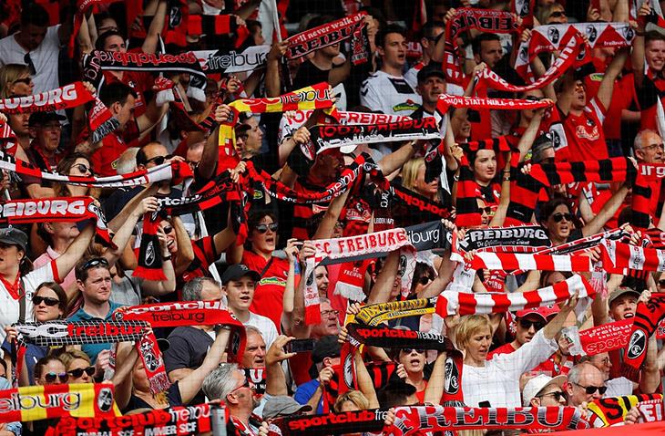 Freiburg Fans
